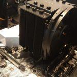 Stiller maken van de koeling van de processor
